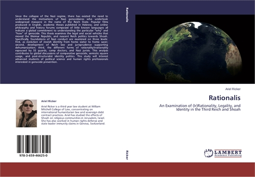 Rationalis : An Examination of (Ir)Ratio... by Ricker, Ariel