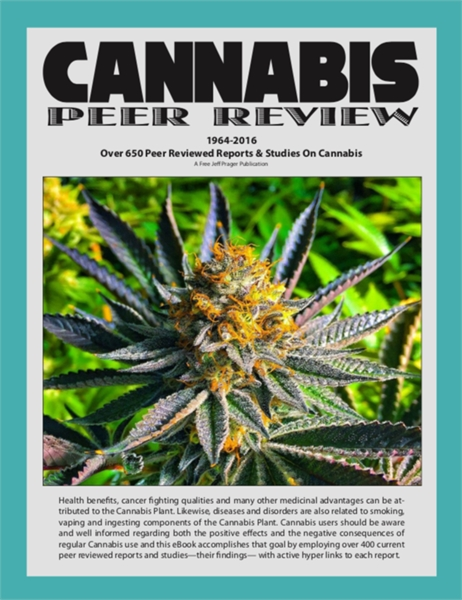 Cannabis : The Peer Review • 1964-2016 by Prager, Jeffrey, J.