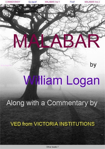 Malabar Manual  : Along with commentary ... by Logan, William