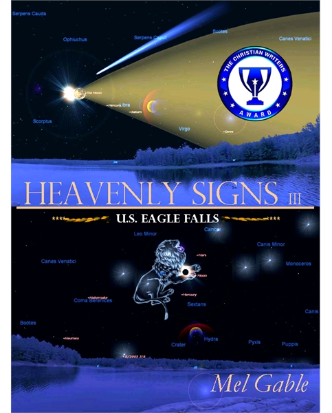 Heavenly Signs III : U.S. Eagle Falls, V... by Gable, Mel