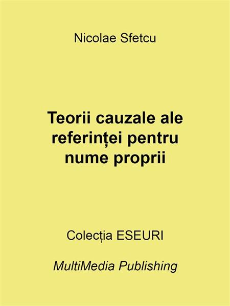 Teorii cauzale ale referinței pentru num... by Sfetcu, Nicolae