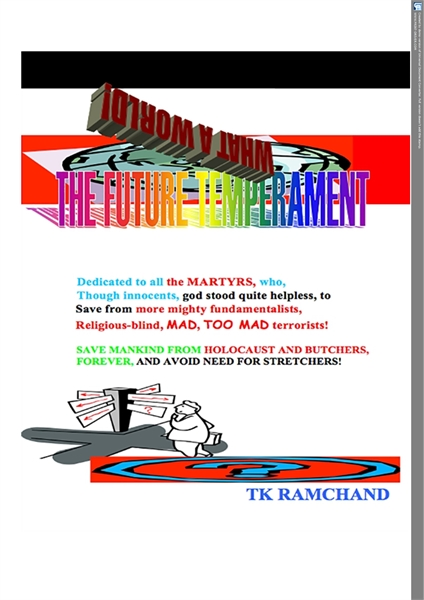 THE FUTURE TEMPERAMENT! : Volume 1.59 MB by Ramchand, TK