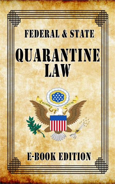 Federal and State Quarantine Law by Jack, D.C.
