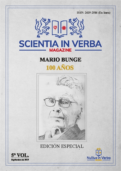 Scientia in verba Magazine : Homenaje a ... by Barrera, Sergio, Sr.