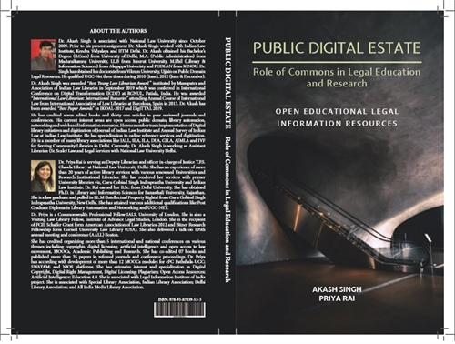 Public Digital Estate: Role of Commons i... by Singh, Akash, Dr.
