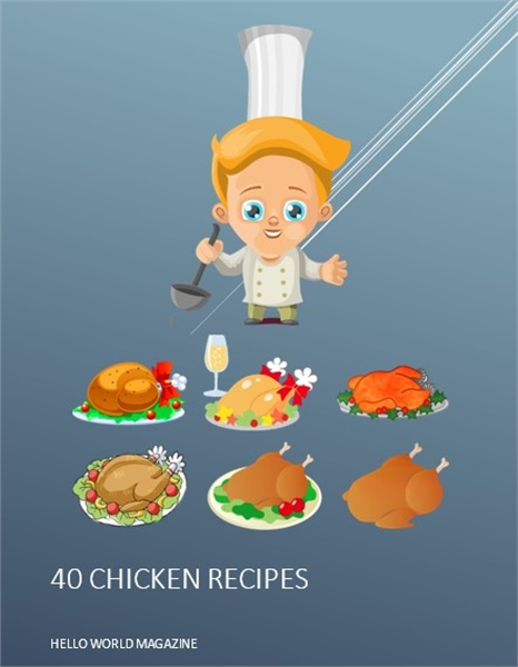 40 Chicken Meals Recipes : 40 Chicken Me... by Magazine, Hello, World