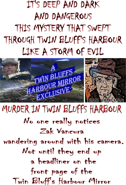 A Murder In Twin Bluffs Harbour by Roberts, Donald, Harry