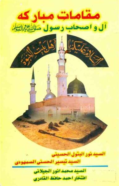 13 Muqamat E Mubaraka Aal Wa Ashaab E Ra... by Qadri, Iftakhar Ahmad, Hafiz