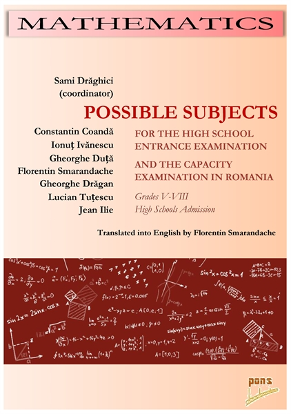 Possible Subjects for The High School En... by Drăghici, Sami