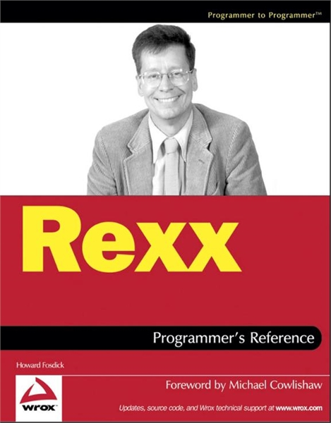 Rexx Programmer's Reference by Fosdick, Howard