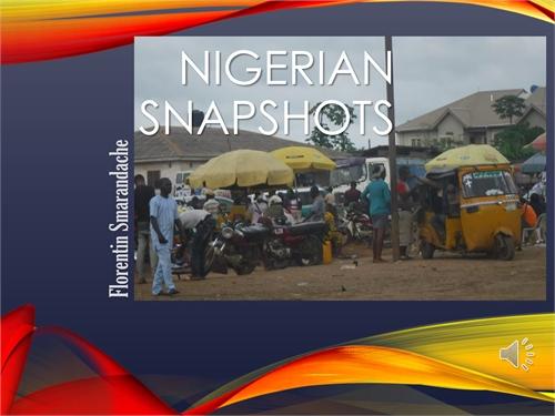 Nigerian Snapshots. A photoalbum by Smarandache, Florentin