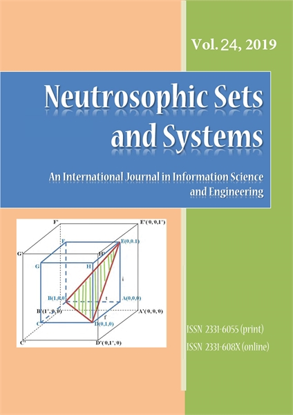 Neutrosophic Sets and Systems, Vol. 24, ... by Smarandache, Florentin