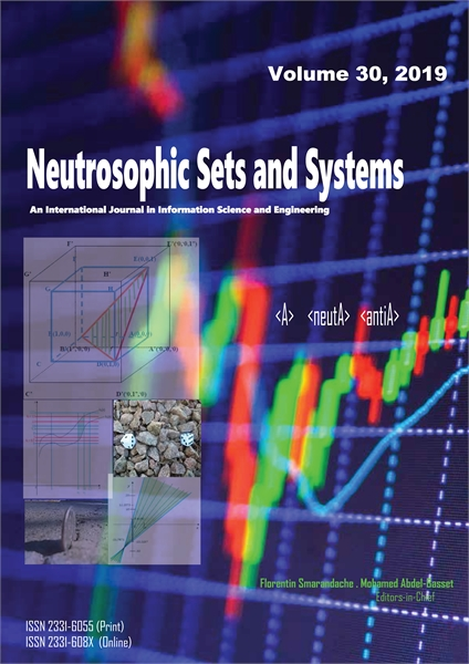 Neutrosophic Sets and Systems, Vol. 30, ... by Smarandache, Florentin