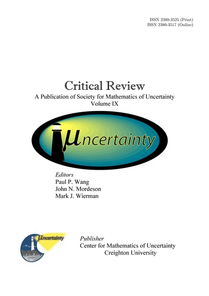 Critical Review, Volume IX, 2014 : A Pub... by Wang, Paul