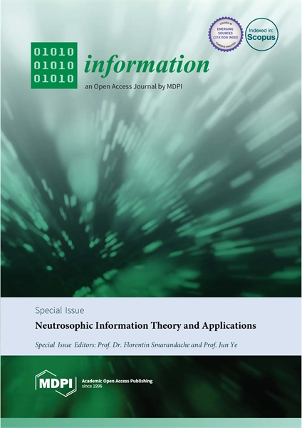 Neutrosophic Information Theory and Appl... by Smarandache, Florentin