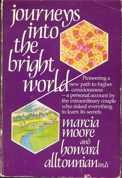Journeys into the bright world by Moore, Marcia