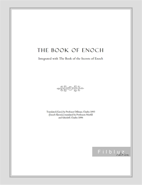 The Book of Enoch by the Scribe, Enoch