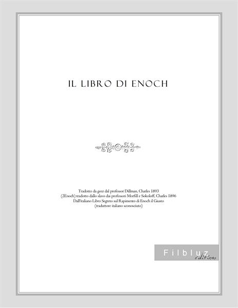 Il libro di Enoch by lo scriba, Enoch