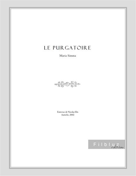 Le purgatoire by Simma, Maria