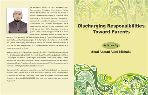 Discharging Responsibilities Towards Par... by Misbahi, Seraj Ahmad