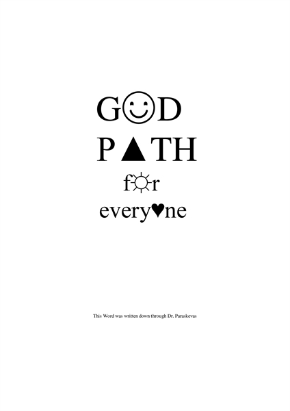God Path for Everyone by SS, Dr, Paraskevas