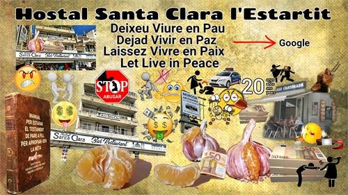 Hostal Santa Clara Estartit : Dejad Vivi... by enpaz, Dejad, vivir
