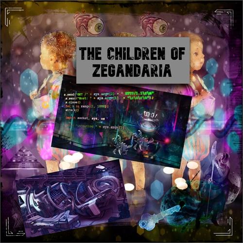 The Children of Zegandaria : Planet Zega... by Marinov, Atanas, Zhivkov