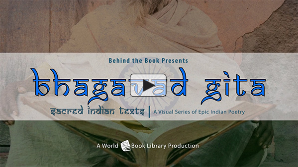 Bhagavad Gita, Sacred Indian Texts - A V... by Behind the Book