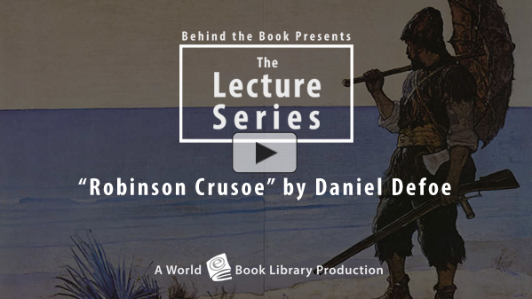 Robinson Crusoe by Daniel Defoe : The Be... by Behind the Book