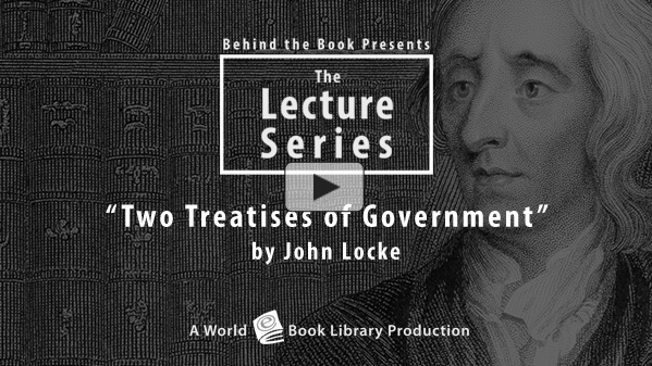 Two Treatises of Government by John Lock... by Behind the Book