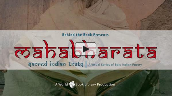 Mahabharata, Sacred Indian Texts - A Vis... by Behind the Book