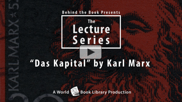 Das Kapital by Karl Marx : The Behind th... by Behind the Book