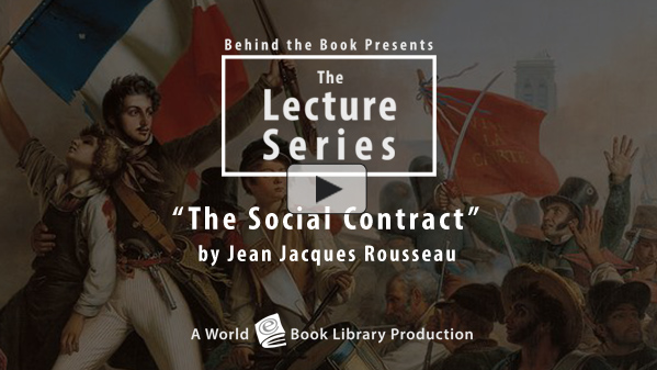 The Social Contract by Jean Jacques Rous... by Behind the Book