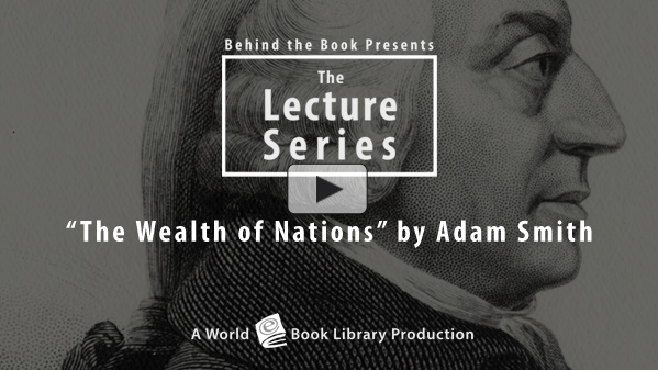 The Wealth of Nations by Adam Smith : Th... by Behind the Book